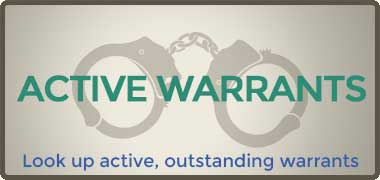Active Warrants - Lookup active, outstanding warrants