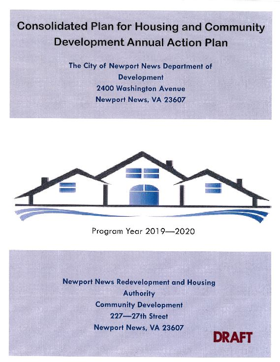 2019 Consolidated Plan cover