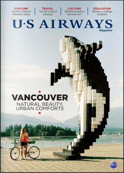 US Airways August 2014 cover