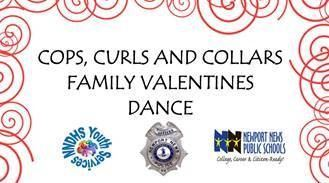 Cops, Curls and Collars Valentine's Day Dance